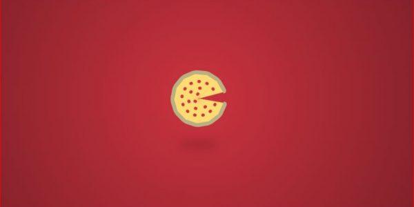 ساعت متحرک به شکل پیتزا فقط با CSS