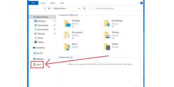 ویندوز 10 فایل های سیستمی لینوکس را در فایل اکسپلور خود پشتیبانی خواهد کرد