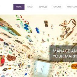 دانلود قالب html شرکتی AmazingBiz